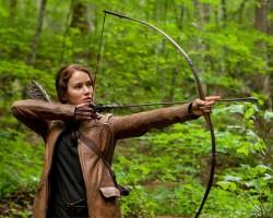 Katniss in Jacket