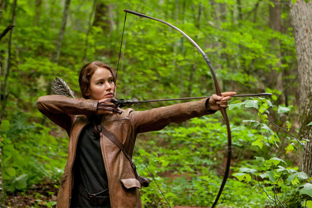 Katniss in Jacket