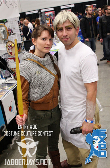 Entry #001 - Katniss and Peeta