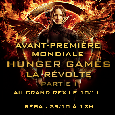 grandrex  paris premiere mockingjay part 1