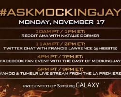 #AskMockingjay