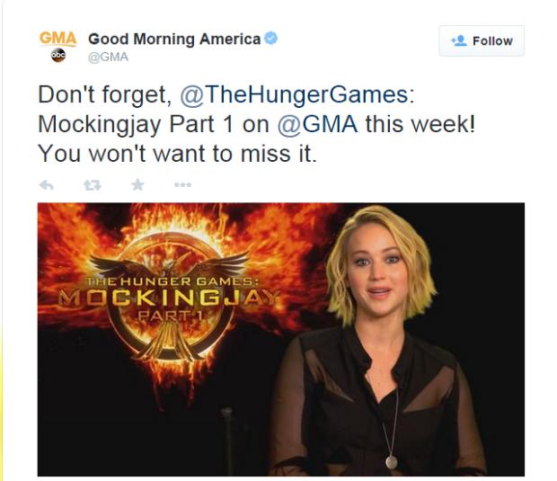 GMA Tweet