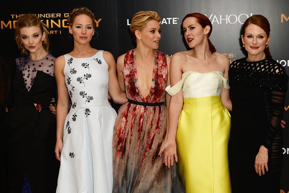 The Ladies of Mockingjay