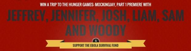 jennifer josh liam jeffrey liam sam woody ebola prizeo