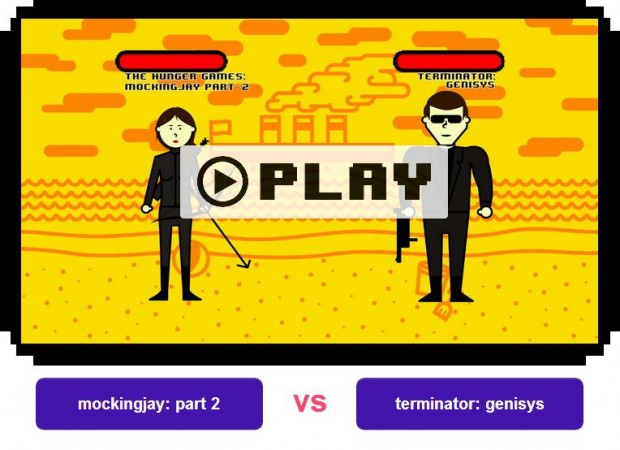 MtV movie brawl round 1 mockingjay part 2 vs terminator genisys