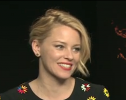 Elizabeth Banks Least Favorite Moment during filming Mockingjay Part 1