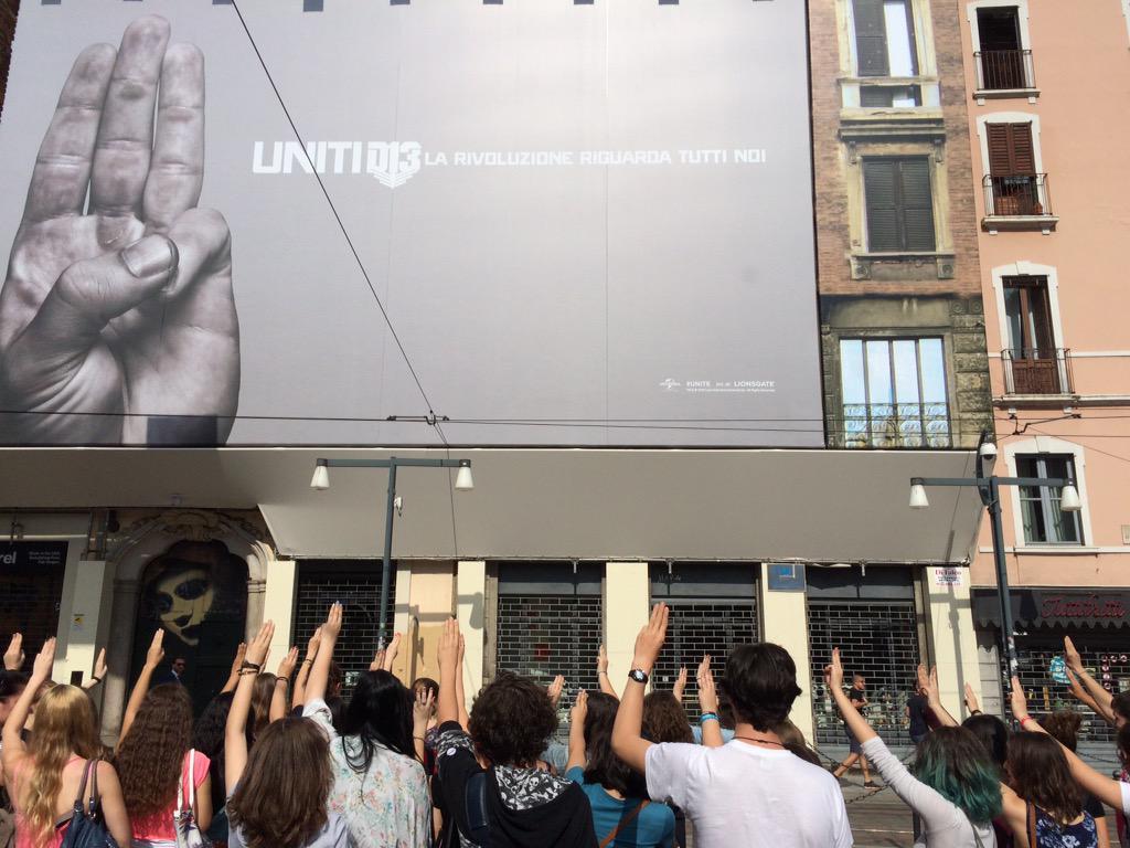 Milan, Italy (via @Screenweek on Twitter)