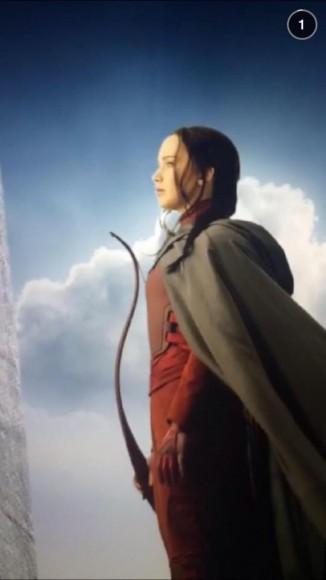 Katniss Red Mockingjay Snapchat
