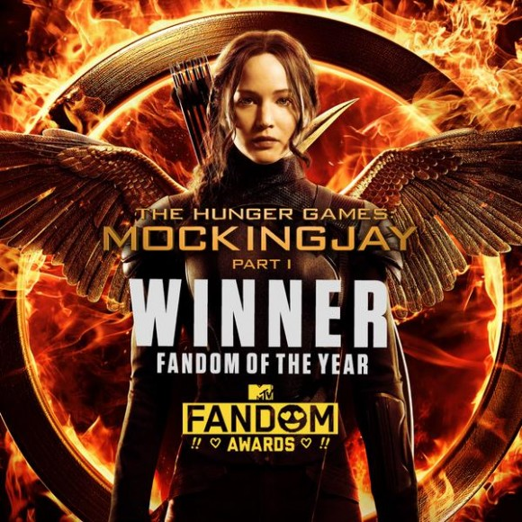 The Hunger Games MTV 2015 Fandom of the Year