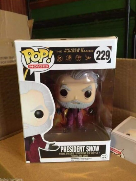 president snow funko pop vinyl figure