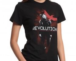 hunger games mockingjat t-shirt revoution the fire will burn forever katniss