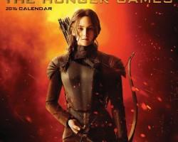 katniss mockingjay the world of the hunger games 2016 calendar