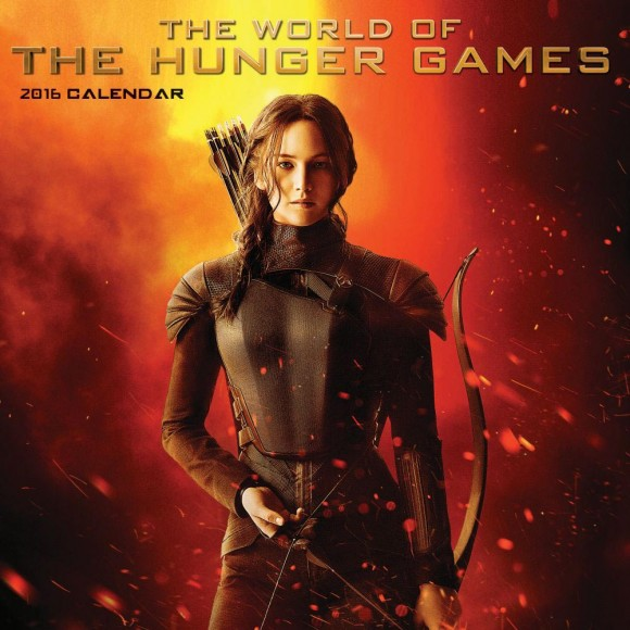 katniss mockingjay the world of the hunger games 2016 calendar