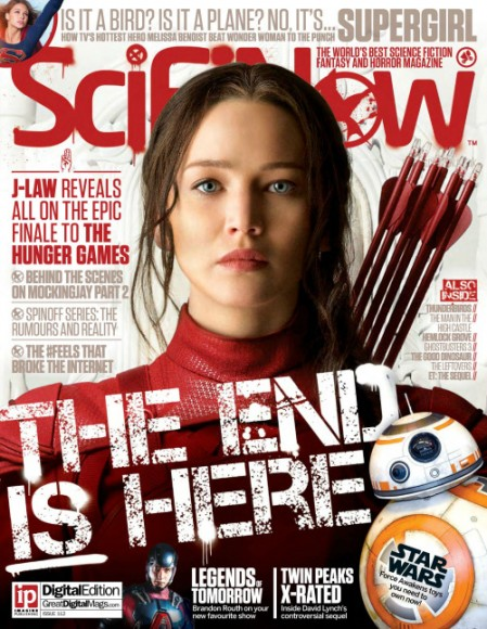 scifinow mockingjay part 2 cover