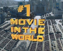 #1 movie in the world