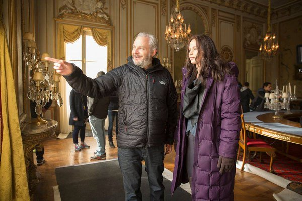 francis lawrence and jennifer lawrence