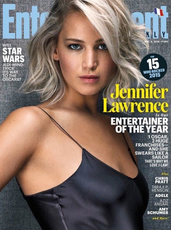 jennifer lawrence ew cover