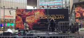 PHOTOS: World Premiere Set Up For The Hunger Games: Mockingjay Part 2