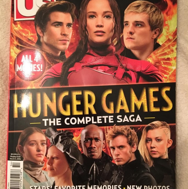 us weekly 1 hunger games complete saga special edition cover