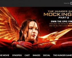 mockingjay part 2 home entertainment site