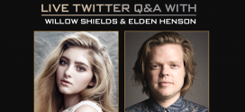Willow Shields and Elden Henson Doing #AskHungerGames Q&A on 2/9
