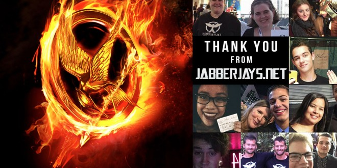 A Thank You From Jabberjays.net on The Hunger Games' 4th Birthday