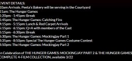 GIVEAWAY: Win Tickets to the Hunger Games Fan Marathon Screening on 03/20