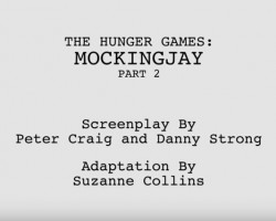 the hunger games mockingjay part 2 screenplay