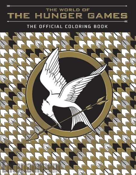 Hunger Games Coloring Book Cover