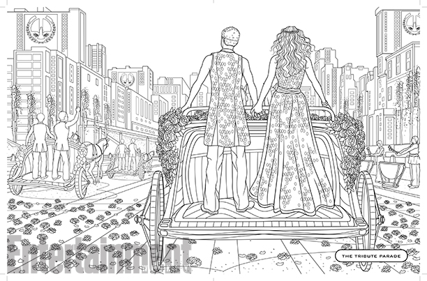 hunger games coloring book 2
