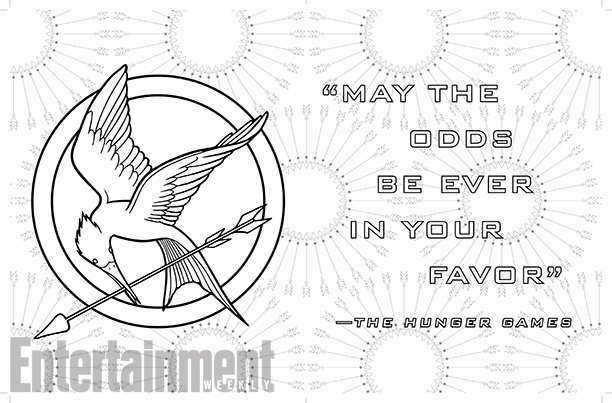 hunger games coloring book 3